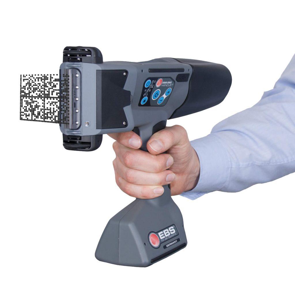 EBS-260 Handdrucker-Handjet