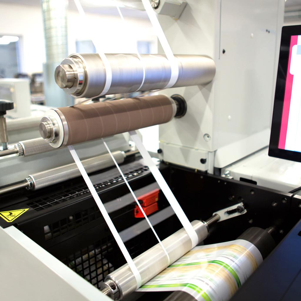 Etikettenproduktion Barcoprint
