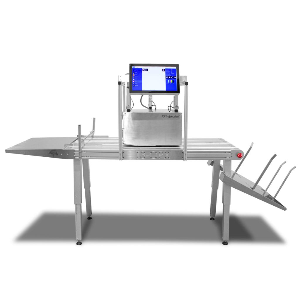 Trojan T3-OPX etikettendruckmaschinen